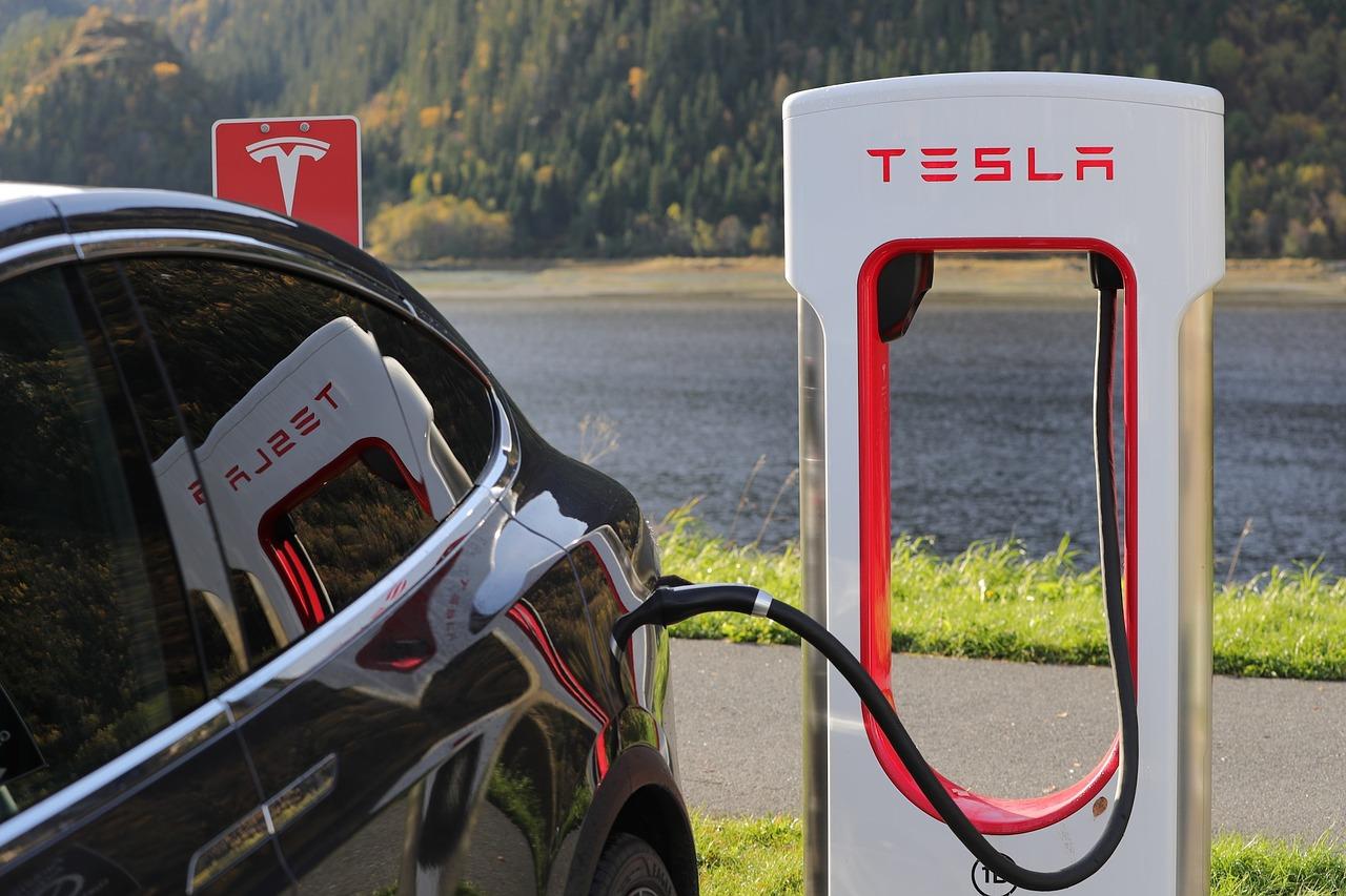 Tesla oplaadpaal