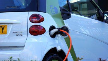Elektrische lease auto